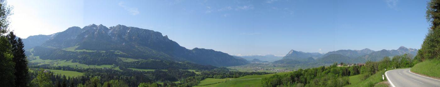 Panorama Richtung Kufstein