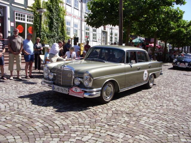 MB Heckflossen Limousine