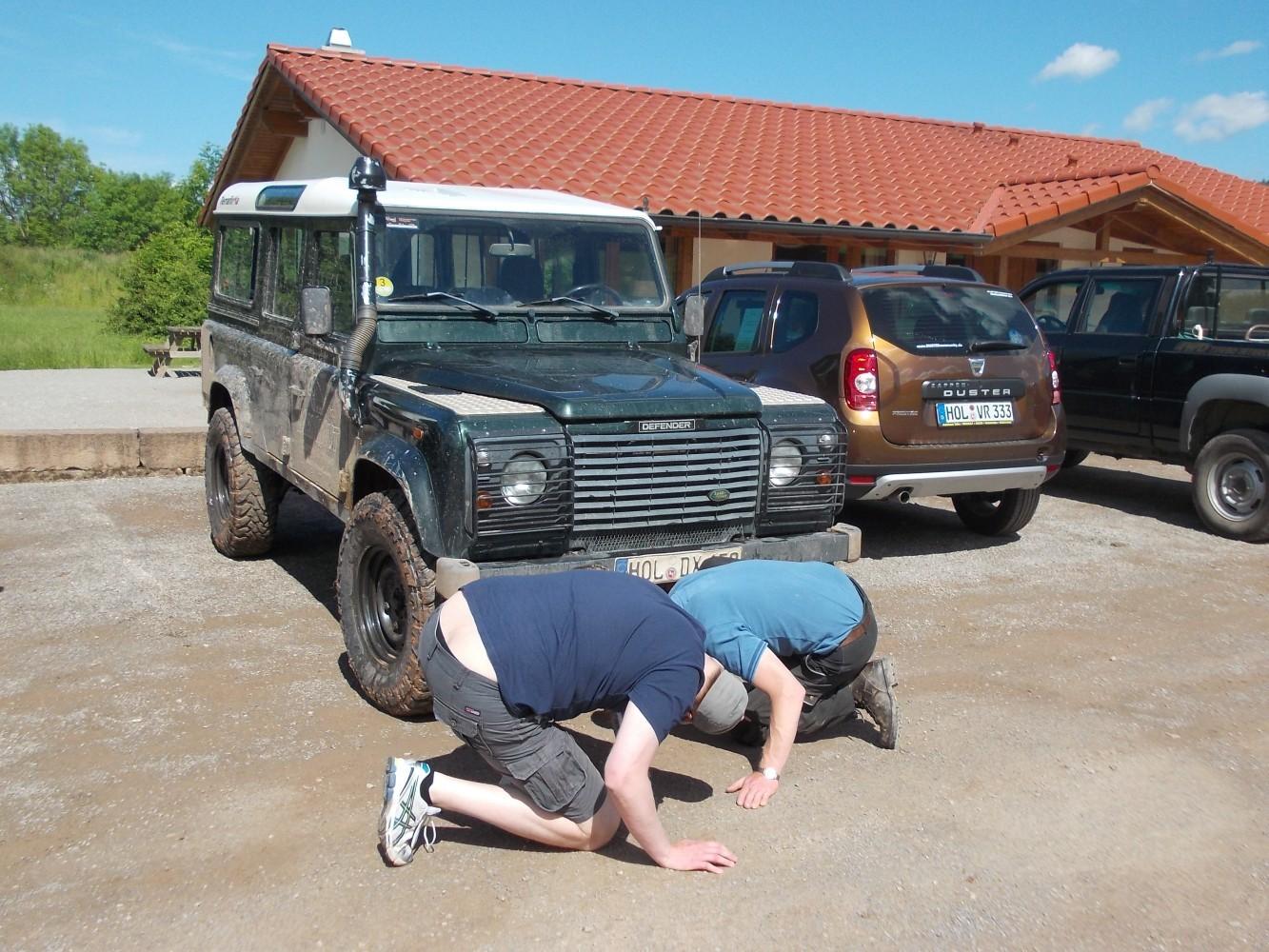 Bodenfreiheitsüberprüfung