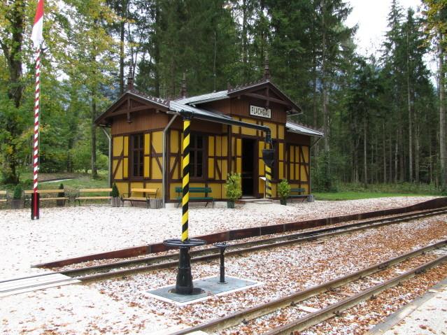 Bahnhof Flachau der neuen Museumsbahn