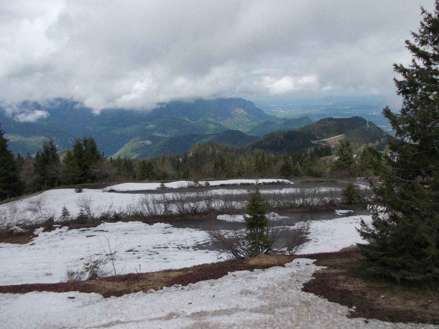 Schnee am Rossfeld (Anfang Mai!)