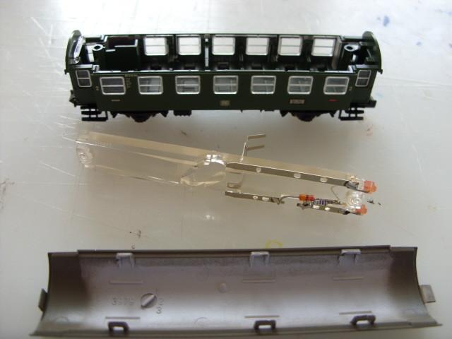 oho, ein Lichtleiter für Zugschlußbeleuchtung
