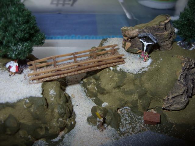 Brückeneinbau
