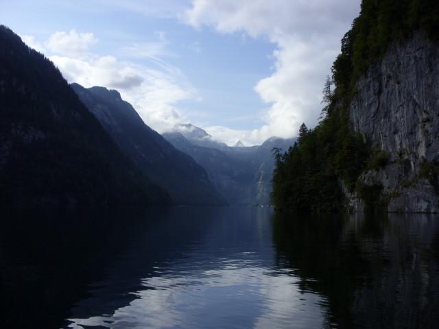 über den Königssee zum Obersee