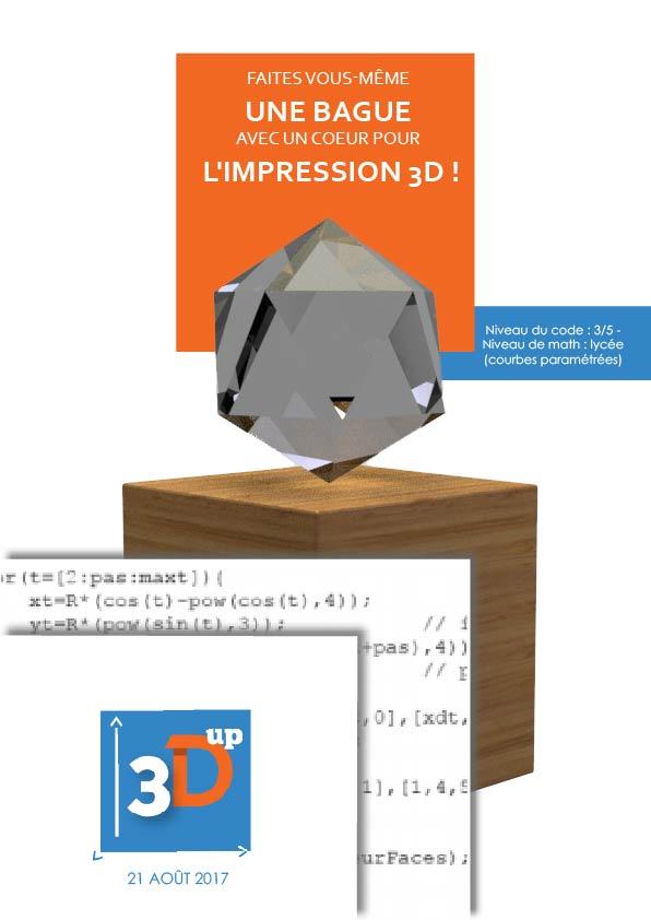Couverture livre d'impression 3D