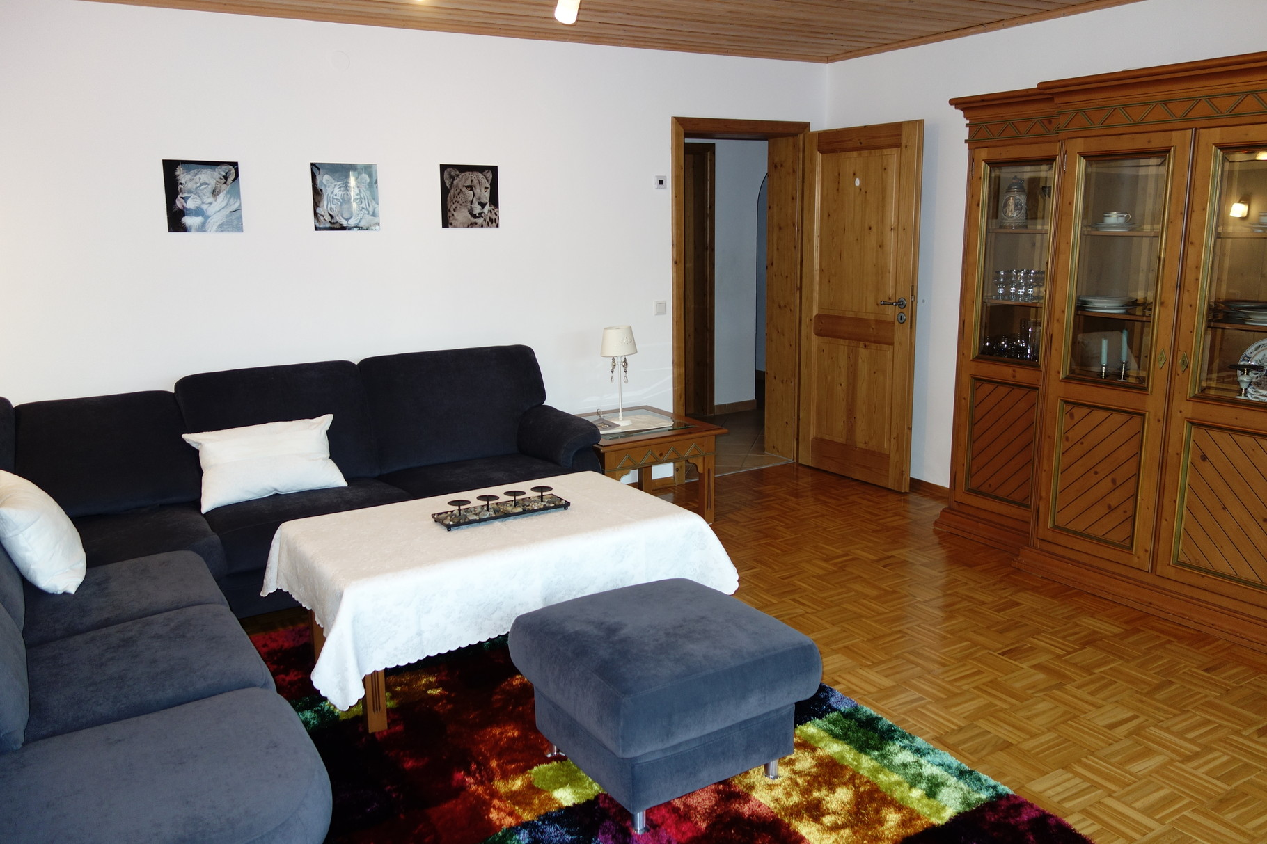 Apartment Guilbeault living room