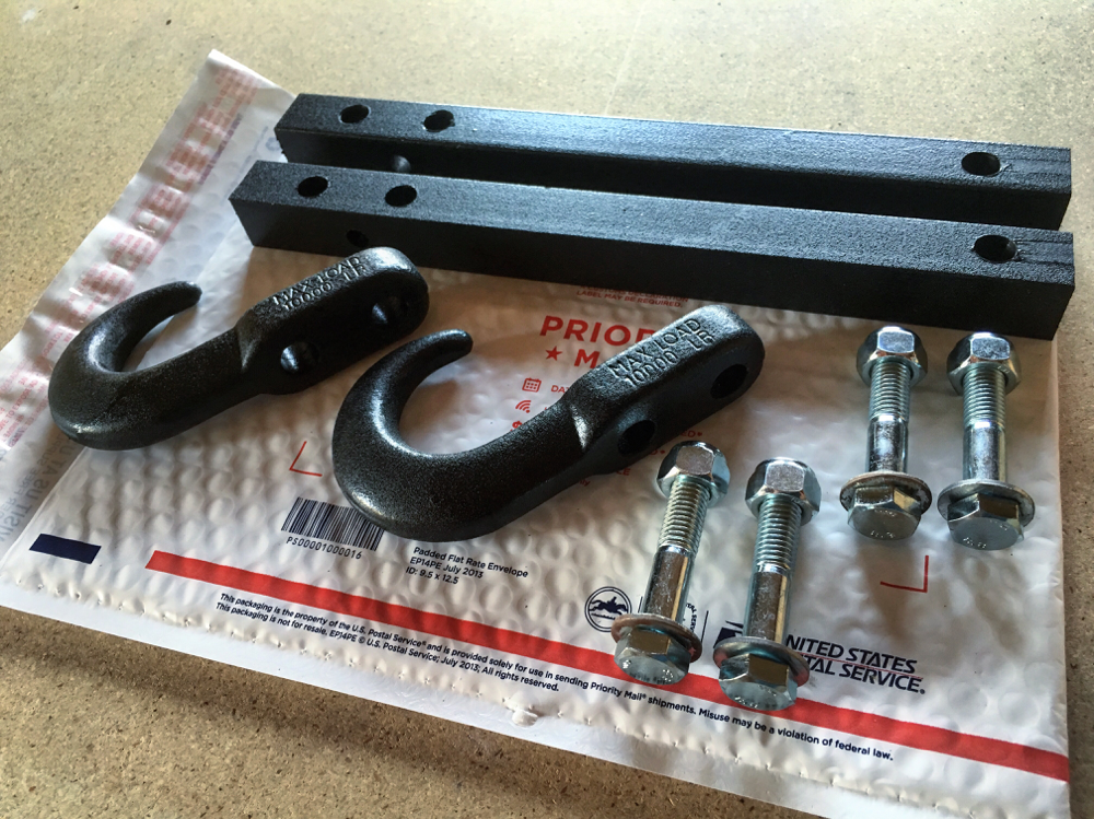 Front Tow Hooks: $70.00