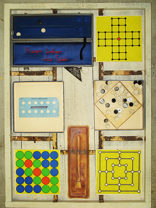 Frauen lieben das Spiel / Les femmes aiment jouer / Women love to play (2014 / private collection)