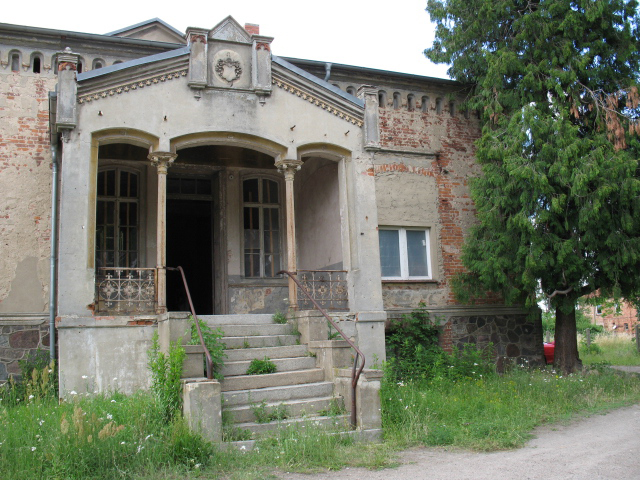 empty manor, Petersdorf (Brandenburg)