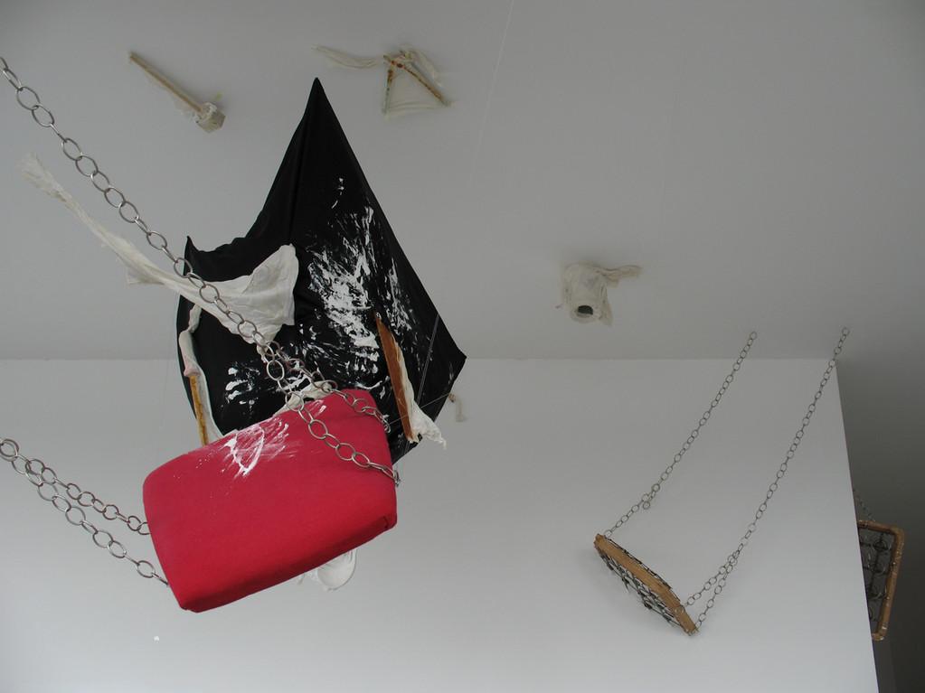 Installation 2012, mixed media (Detail1)