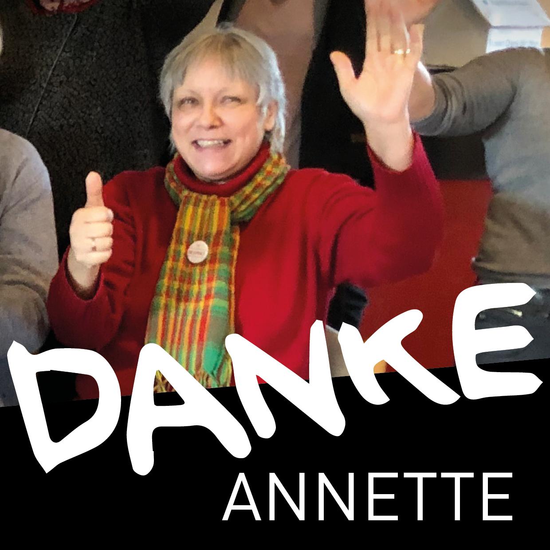 Danke Annette!