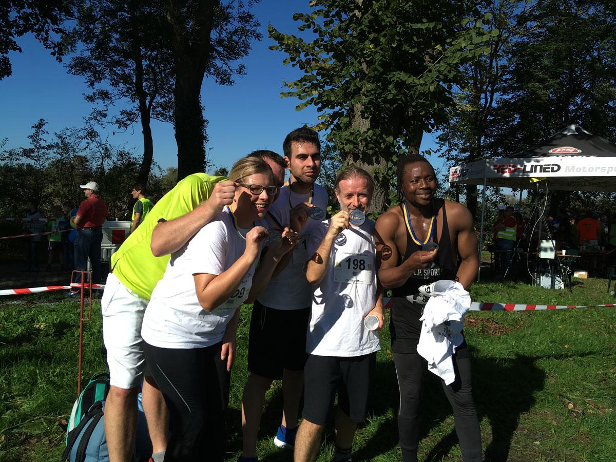 15. Oktober: Unser starkes Team beim Erbhoflauf