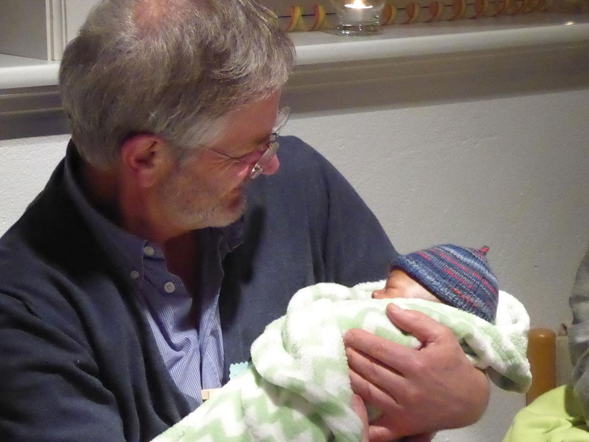 … mit Neugeborenen