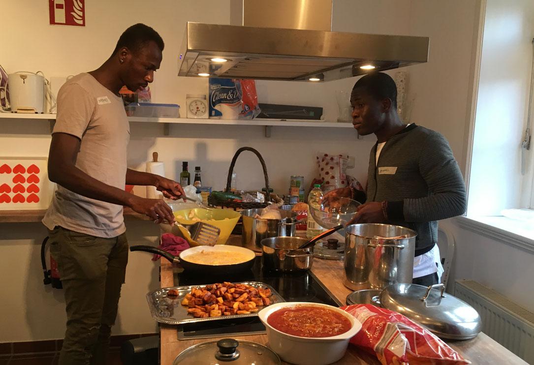 27. Oktober: Wieder kochen – diesmal afrikanisch und …