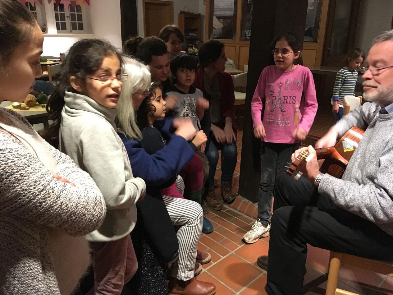 Begegnungscafé mit der Wulmstorfer Kindergruppe am 26. November