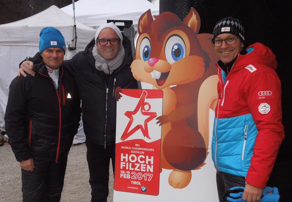 DJ Ötzi freut sich auf die Biathlon WM in Hochfilzen