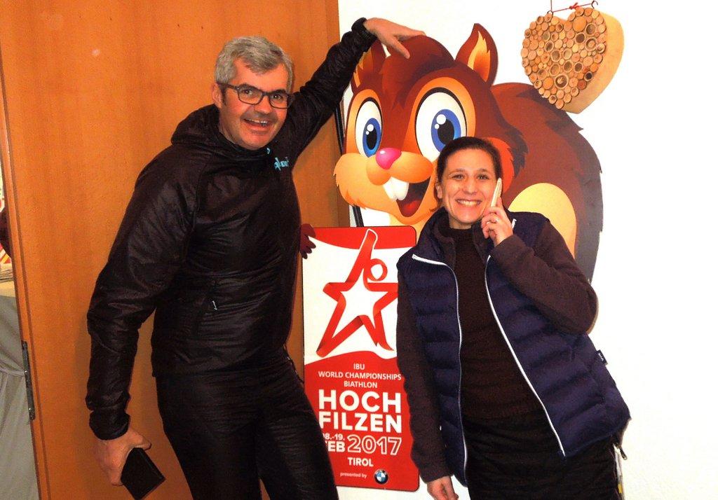 BGM. Werner Frießer und Yvonne Kirnbauer