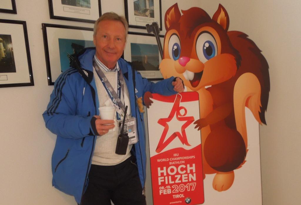 Walter Hofer (FIS) freut sich auch auf die Biathlon WM
