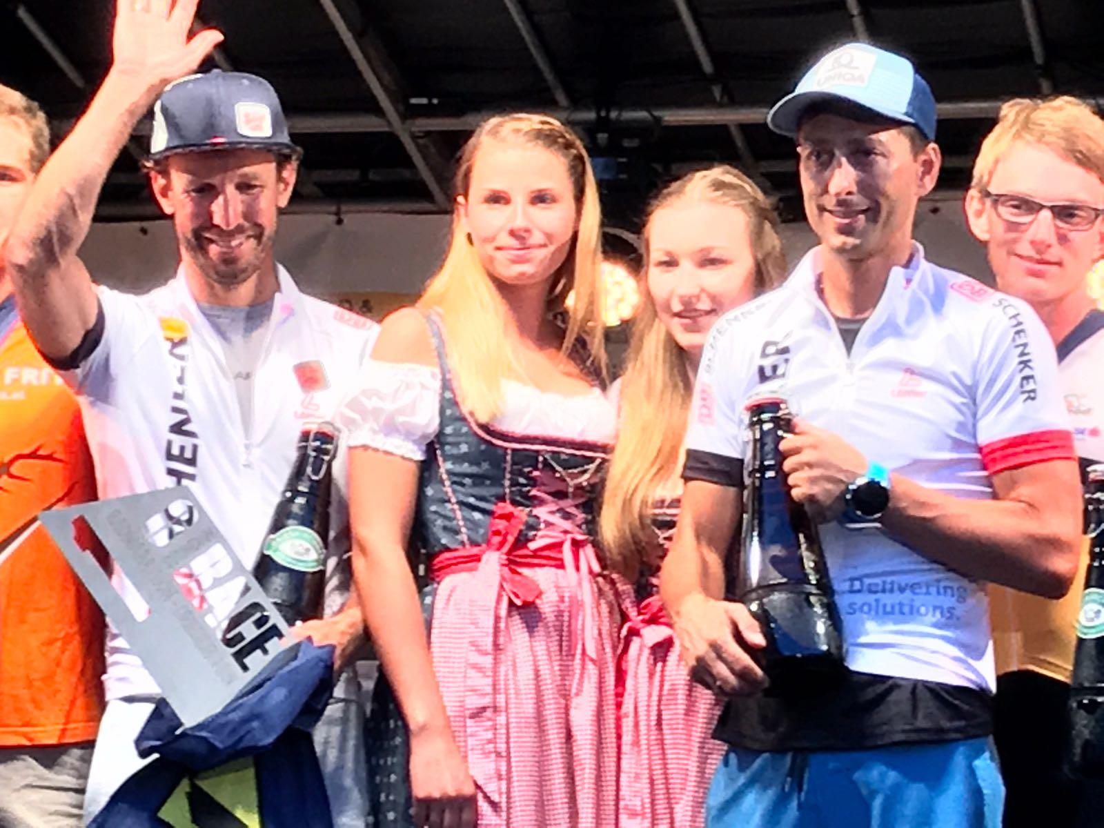 Sieger 6h Zweierteams: Mario Stecher & Christoph Bieler