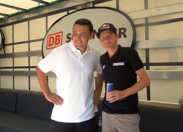 Thomas Zieger (DB Schenker) und Andi Goldberger