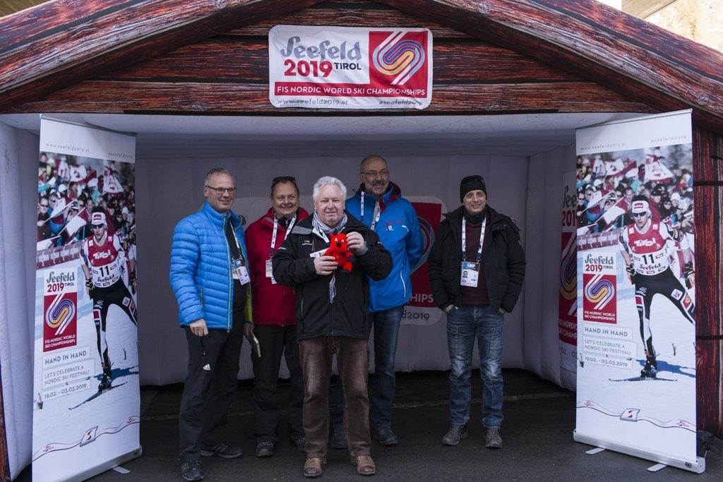 Team EUROSPORT mit Sigi Heinrich