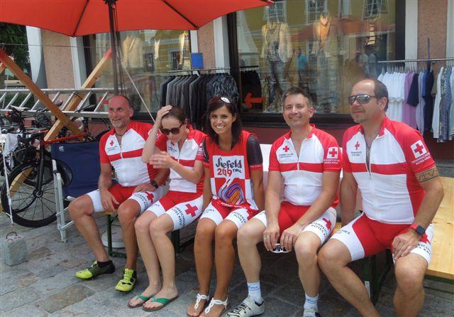 Ein RotKreuz-Team freut sich schon auf die WM in Seefeld