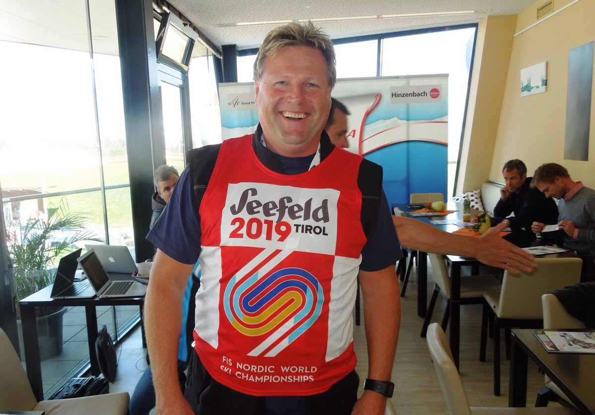Bernhard Zauner, OK Chef, Skiclub Hinzenbach