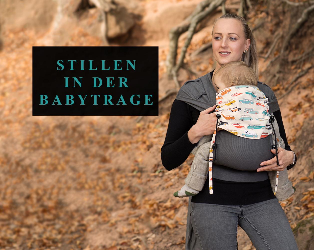 Stillen in der Babytrage