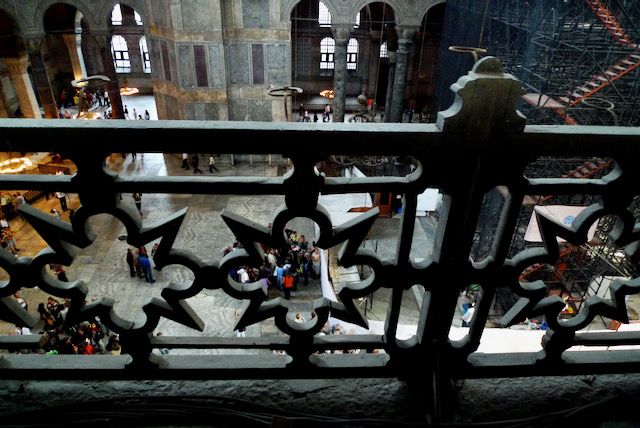 Hagia Sophia balustrade, Istanbul