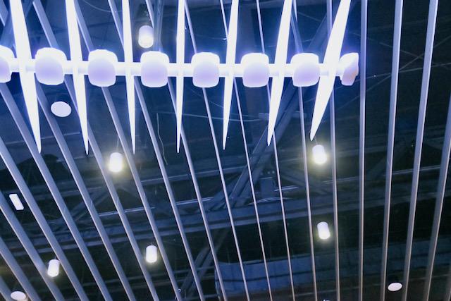 Lumières bleues, Paris