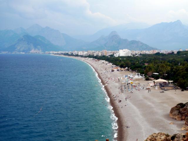 Antalya coastline west
