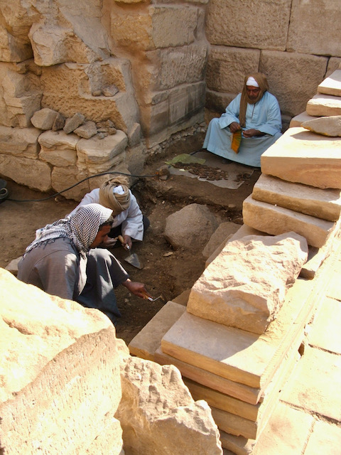 Luxor casual labourers