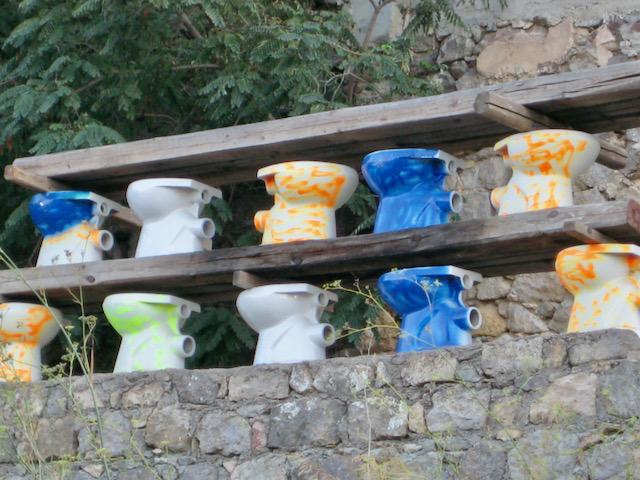 More Grecian pots, Athens