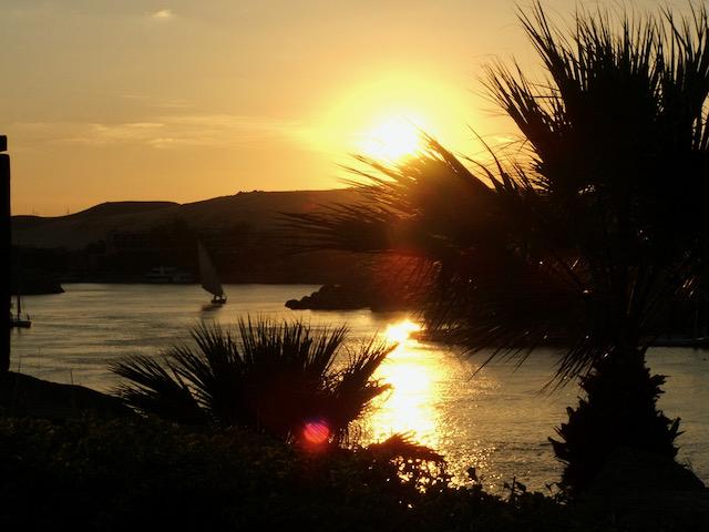 2nd cataract sunset
