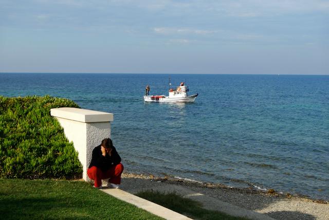 Gallipoli peninsula (Gelibolu Yarımadası) Christian mourner