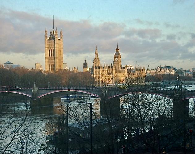 Westminster sunset, London