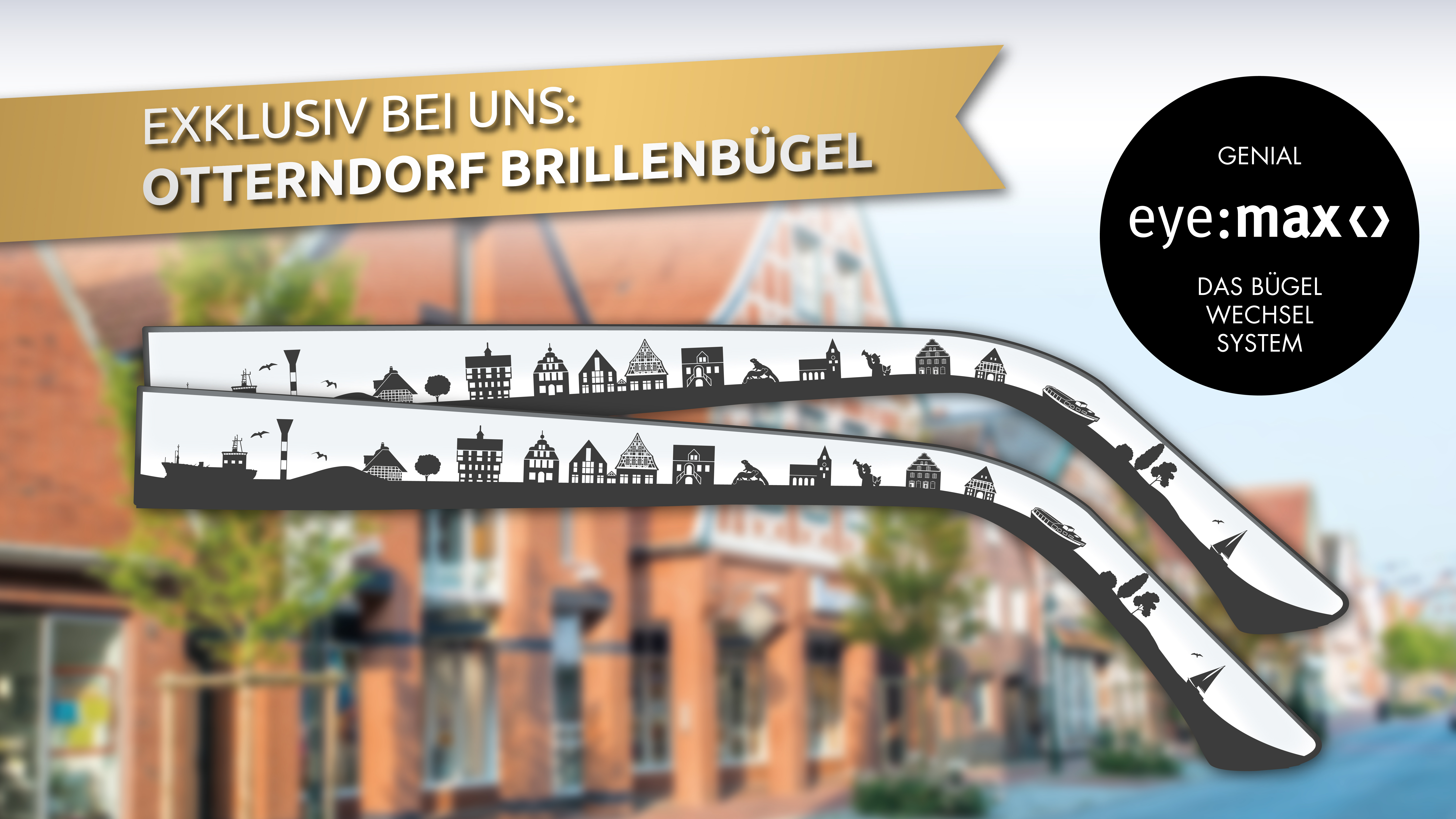 Exklusiv bei Marcinkowski – Otterndorf Brillenbügel