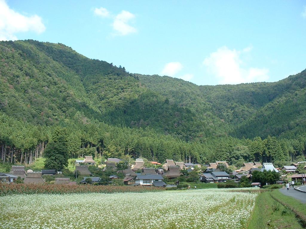 京都府美山町 かやぶきの里