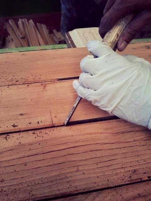 riparazione legno