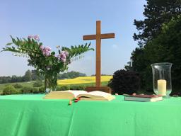 Open-Air-Gottesdienst an Himmelfahrt
