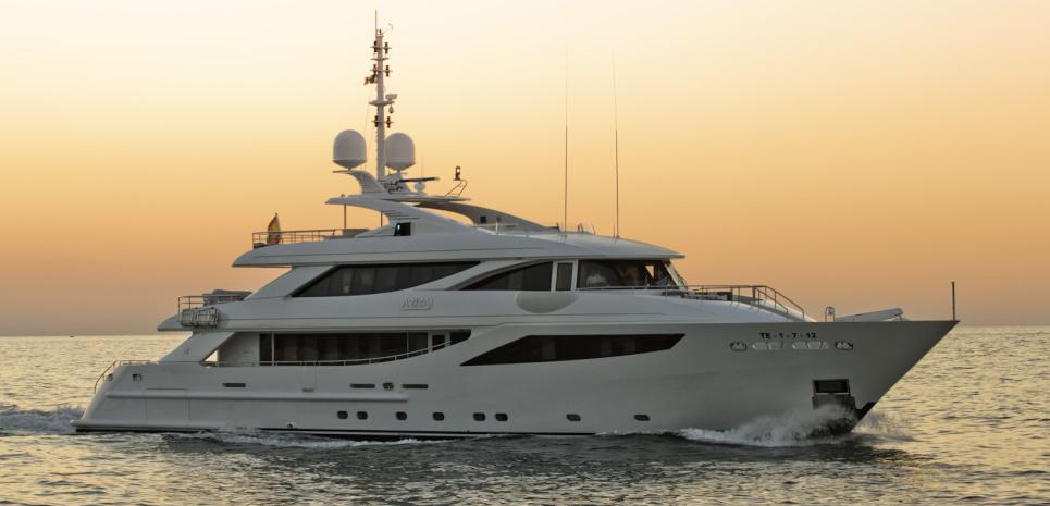 Motor Yacht Aziza