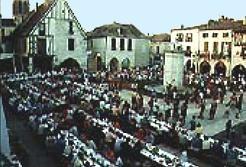 Grand banquet médieval autour du 15 août