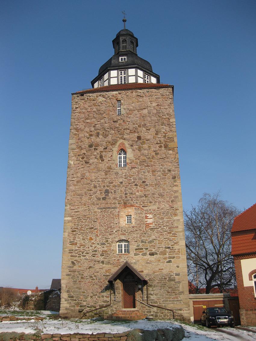 Mauseturm in Gröbzig (8/9 Jh.)