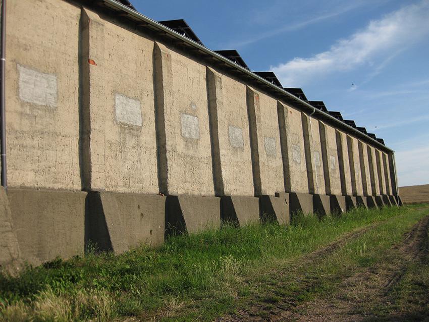 """Lagerhalle mit """"Aussenstatik"""" in Sieglitz"""