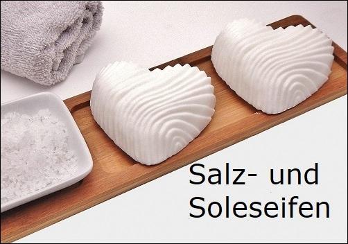 Salzseifen und Soleseifen mit und ohne Duft