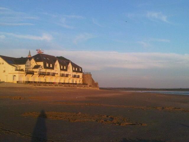 la résidence avec accés direct à la plage