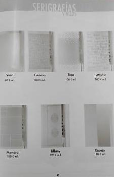 Decorados (vinilos) para cristal de Mamparas MAMPATEC (Murcia)