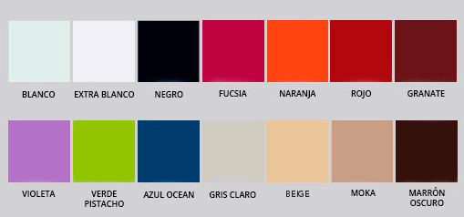 Colores de vidrios lacobel - VIDRIOTEC