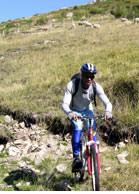 Randonnée VTT en sud Ardèche