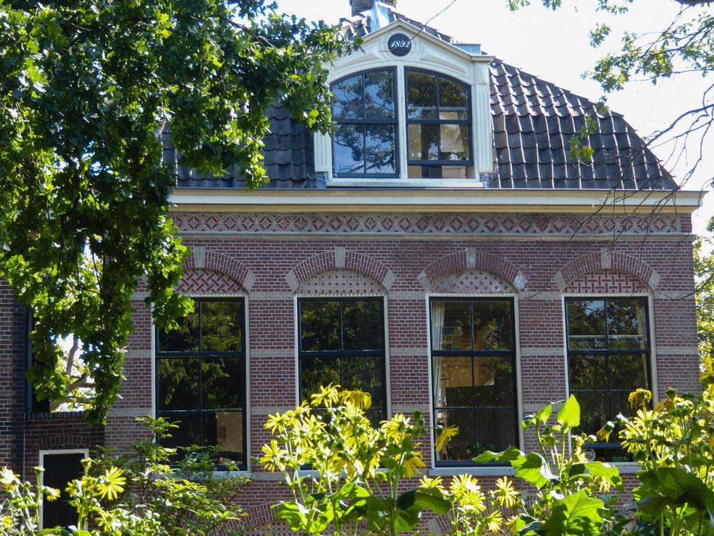 Ein Gebäude im Hortus Botanicus Leiden